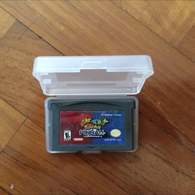 Pokémon Gameboy Advance (GBA) Games