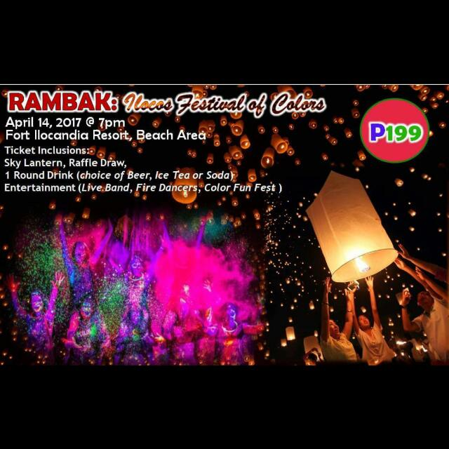 Rambak: Ilocos Festival of Colors