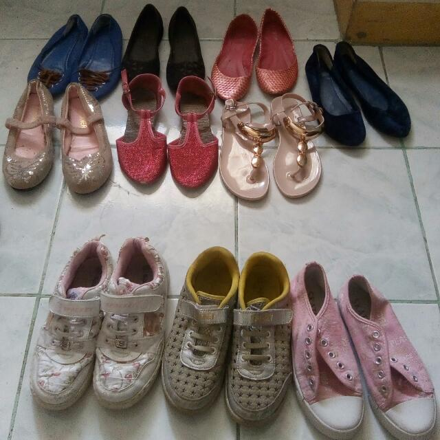 Take All Preloved Doll & Rubber Shoes