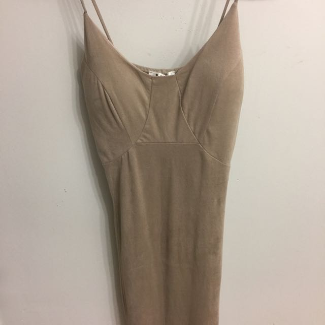 Tan Beige Dress