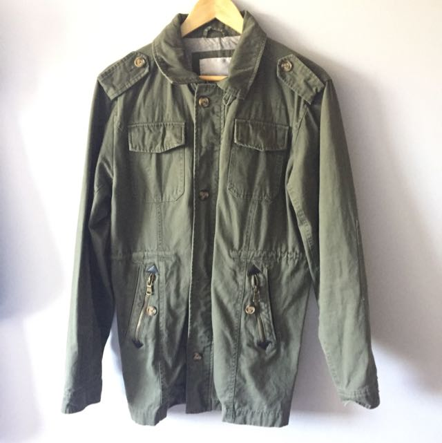 The Academy Brand Parka Military Jacket
