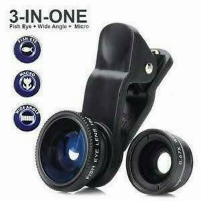 Universal Clip lens 3in 1