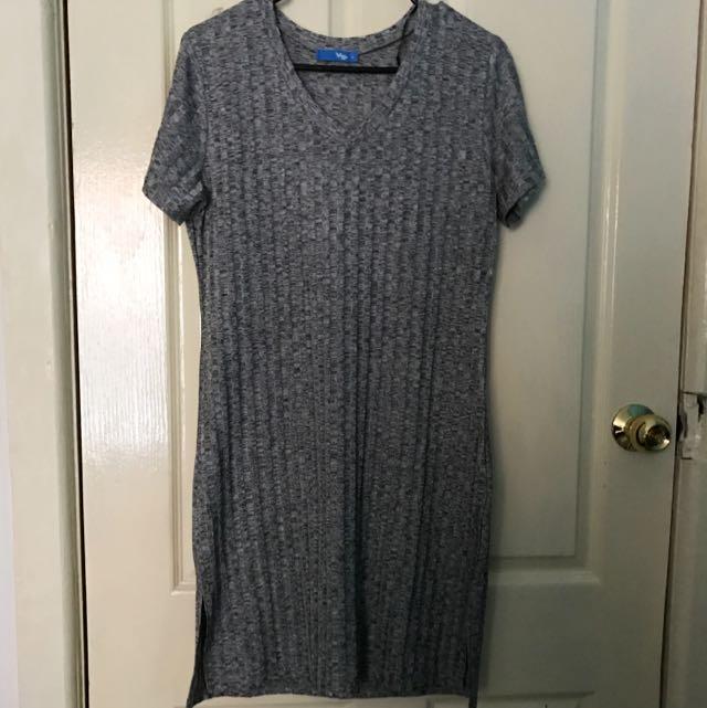 Valleygirl Grey Dress