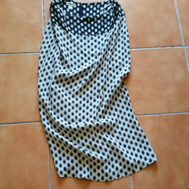 Verge Long Skirt