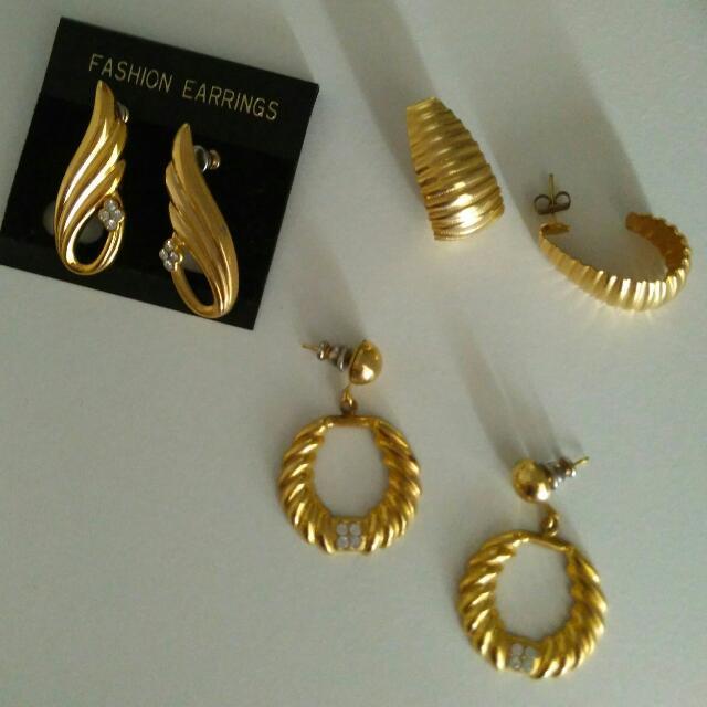 Vintage Fashion Earrings