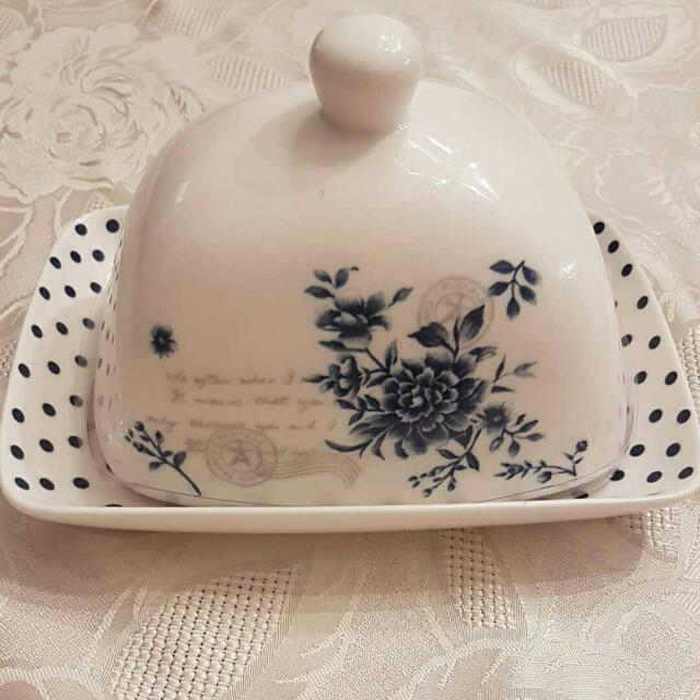 Vivian By Maxcera Butter Dish