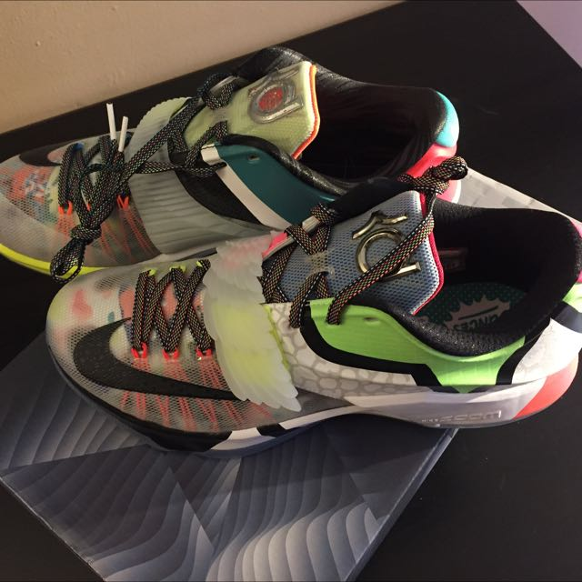 What The KD 7 Brand New With Receipt From Footlocker