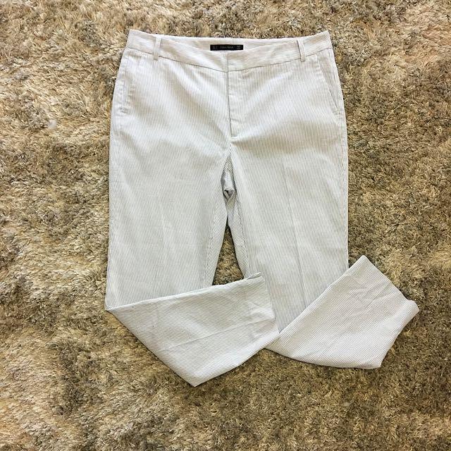Zara Light Blue Size 16 Pants