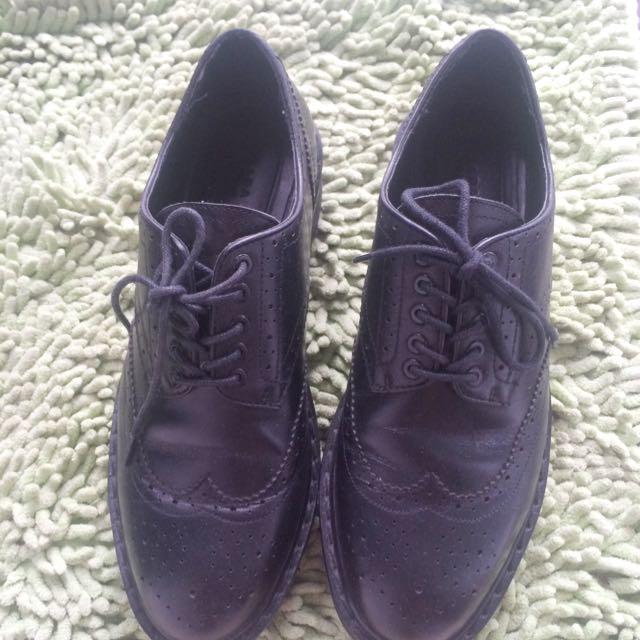 Zara Shoes,size 38,Black Colour