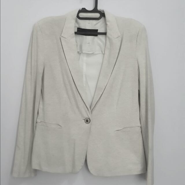 Zara Basic Blazer (beige)
