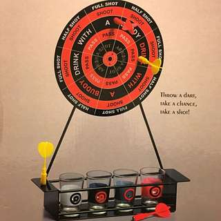 #marchsale Mini Darts Shot Set Game 飲酒飛鏢遊戲