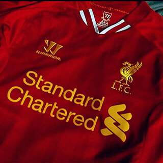OFFICIAL AUTHENTIC LIVERPOOL HOME JERSEY 13/14 SEASON; SIZE_YOUTH (L)