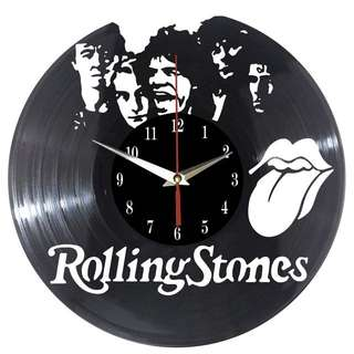 Rolling Stones Vinyl Record Wall Clock