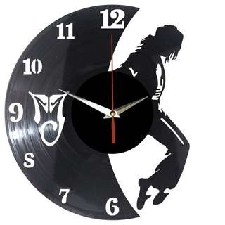 Michael Jackson Vinyl Record Wall Clock