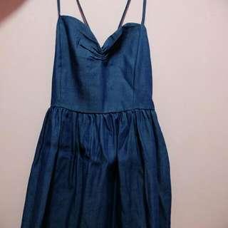 REPRICED!!! Navy Blue Dress
