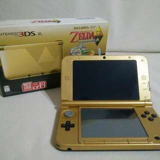 Nintendo 3DS XL Legend of Zelda Special Edition
