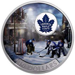Passion to Play: Toronto Maple Leafs - 1/2 oz Pure Silver Coin