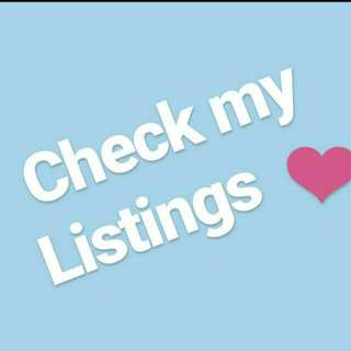 CHECK My Listings '!!!