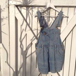 OPSHOP SHORT OVERALLS