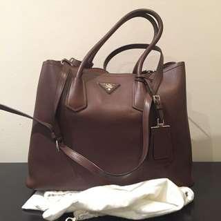 Prada Double City Bag