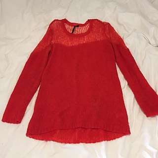 Topshop Boutique Mohair Mix Jumper Size 10