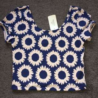 Daisy Crop Top NEW