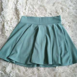 Emerald-green Skirt #under20