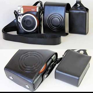Fuji Film Instax Mini Camera Leather Case Set