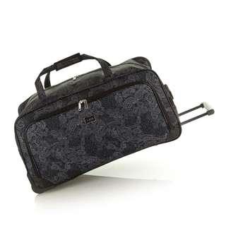 NEW Lucca So Paisley Duffle Bag - Wheeled