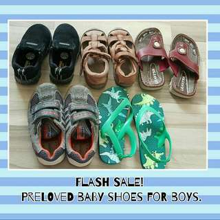 Preloved Baby Boys' Shoes N Slippers