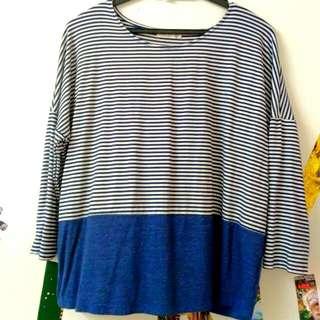 P&Co Long Sleeves Striped Shirt