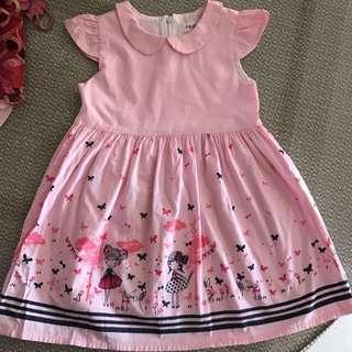 baby pink dress size:13