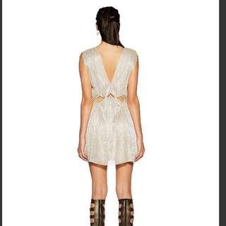 Bec and Bridge Gold Dust Dress