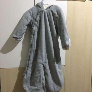 GAP冬季嬰兒連身衣/睡袍