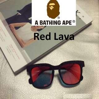 255048c2c34a Description  A Bathing Ape (BAPE)  Red Lava BS13031 G