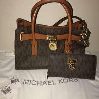 Authentic MK Hamilton Bag & Wallet