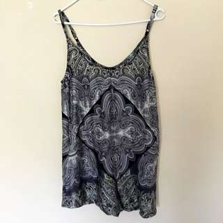 Size S | Zalora Love Silky Playsuit