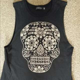XS Skull Low Sided Tank
