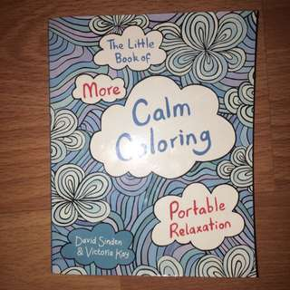 Calm Colouring - Stress Relief Adult Colouring Book