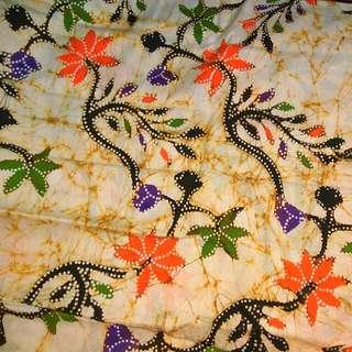 Batik Tulis Madura Kombinasi Djumput