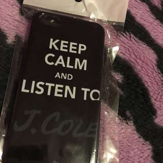 Keep Calm And Listen To j Cole Case