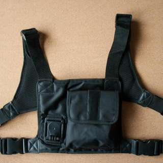 Chest Strap with storage compartment