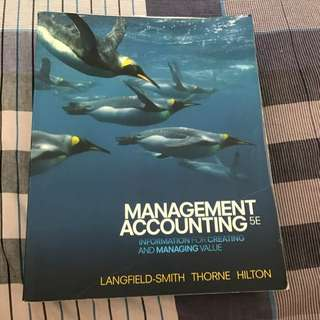Management Accounting 5e