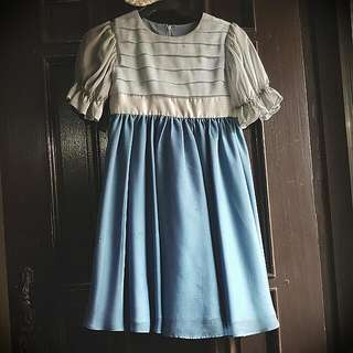 Powder Blue Gown For Girls