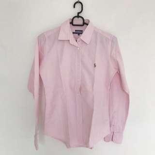 POLO Slim Fit Shirt pink
