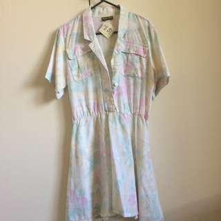 Vintage Safari Dress