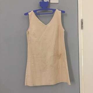 Creme Dress