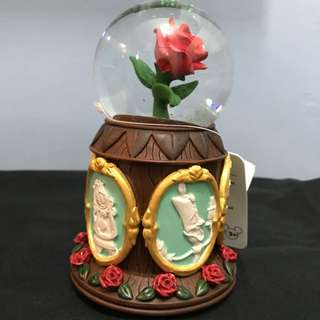 Beauty And The Beast Musical Snow Globe
