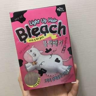 韓國 EZN 家中漂髮 light up hair bleach