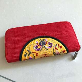 Red Long Purse